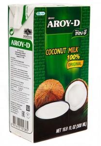 Молоко кокосовое 60% 0.5л Aroy-D