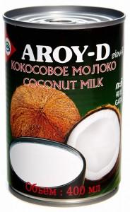 Молоко кокосовое 60% ж/б 0.4л Aroy-D