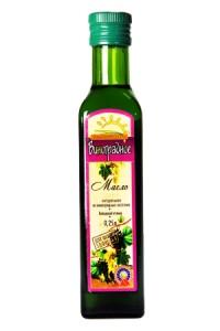 Масло виноградных косточек рафинированное 250мл Солнечный Край