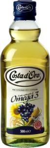 Масло Омега-3 рафинированное 500мл Costa D'oro