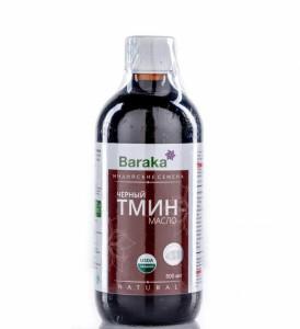 Масло черного тмина Индийские семена нерафинированное холодный отжим пл/б 500мл Baraka