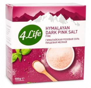 Соль гималайская розовая мелкая 500г 4Life