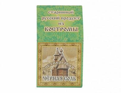Соль пищевая черная мелкая 40г ООО Соло-Ко
