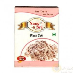 Соль черная индийская 100г Nano Shri