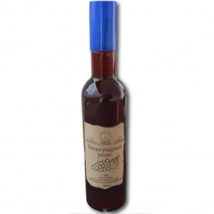 Уксус виноградный каберне непастеризованный 449мл ЭкоУксус