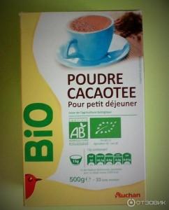 Какао-порошок 250г Auchan