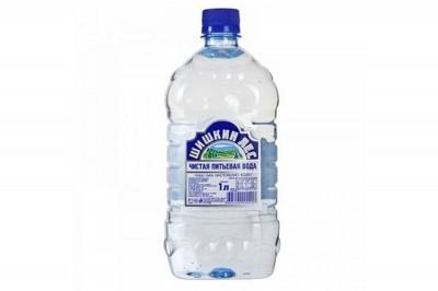 Вода минеральная б/газа ПЭТ 1л Шишкинский лес