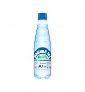 Вода минеральная б/газа ПЭТ 400мл Шишкинский лес