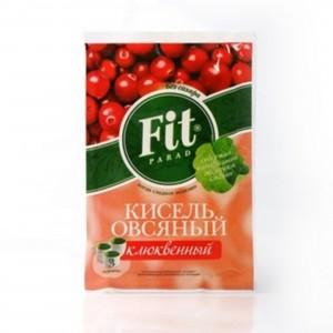 Кисель витаминизированный Клюква 30г ФитПарад