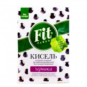 Кисель витаминизированный Черника 30г ФитПарад