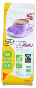 Кофе молотый Арабика Гватемала органический 250г Auchan