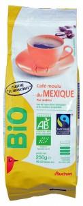 Кофе молотый Арабика Мексика органический 250г Auchan