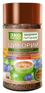 Цикорий натуральный сублимированный 85г ЭкоЛогика