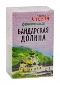 Фитокомпозиция Байдарская долина противопростудный 50г Крымская Стевия