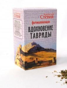 Фитокомпозиция Вдохновение Тавриды 50г Крымская Стевия