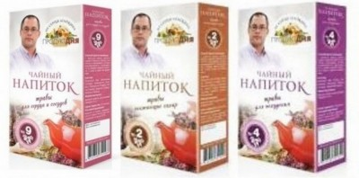 Чайный напиток №1 травы для печени 30 пакетиков 60г Агапкина