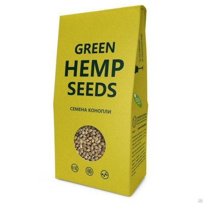 Семена конопли пищевые 150г Компас Здоровья