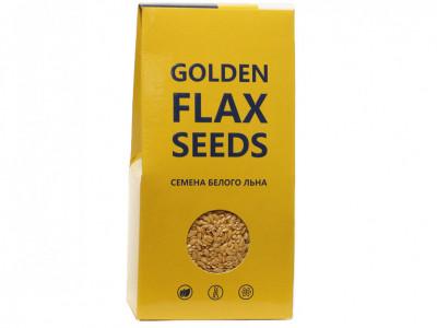 Семена льна белого пищевые 150г Компас Здоровья
