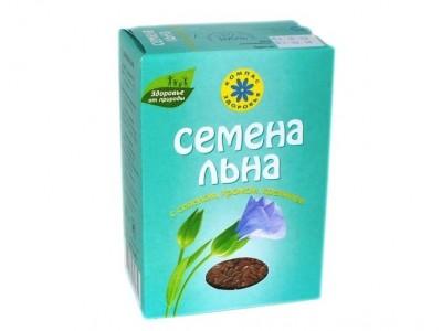 Семена льна с селеном хромом кремнием 200г Компас Здоровья