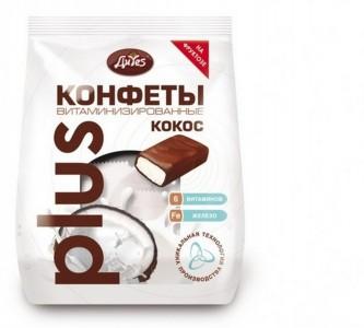 Конфеты кокосовые витамин. на фруктозе 200г ДиYes
