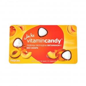 Леденцы без сахара Мандарин с витамином С 18г Ufeelgood