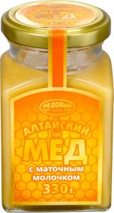 Мед Алтайский с маточкиным молочком 330г