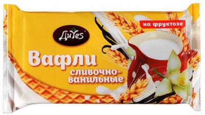 Вафли Сливочно-ванильные на фр. 90г ДиYes