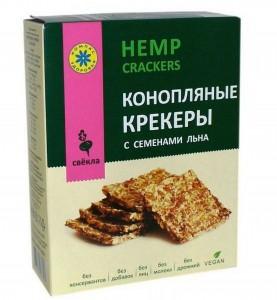 Крекер конопляные со свеклой 150г Компас Здоровья