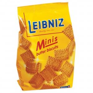 Печенье-мини сливочное Минис 100г Лейбниц