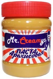 Паста арахисовая классическая 340г Mr Creamys