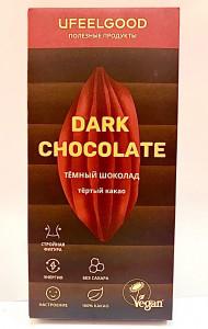 Какао плитка 100% без сахара 200г Ufeelgood