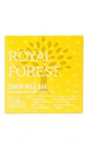 Шоколад из необжареного кероба 75г Royal Forest