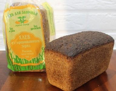 Хлеб ржаной из пророщенного зерна 400г Живые злаки