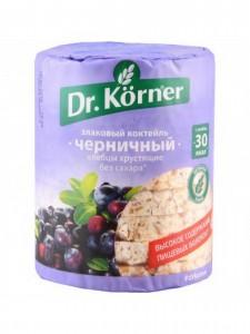 Хлебцы  злаковый коктейль черника 100г DR.KORNER