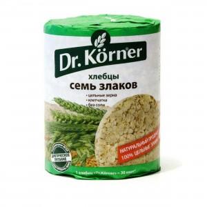 Хлебцы 7 злаков 100г DR.KORNER