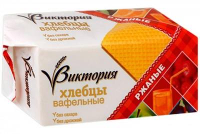Хлебцы вафельные ржаные 60г Виктория