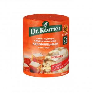 Хлебцы Кукурузно-рисовые с карамелью 100г DR.KORNER