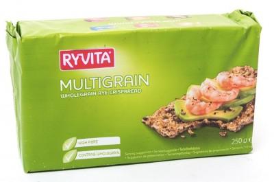 Хлебцы многозерновые из цельного зерна 250г RYVITA