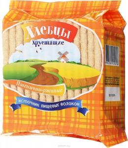 Хлебцы Пшенично-ржаные 100г Диадар