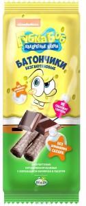 Батончик безглютеновый Губка Боб с шоколадной начинкой 20г Умные сладости