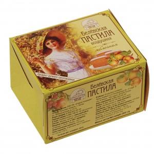 Белевская пастила воздушная яблочная коробка НГ 200г Старые Традиции
