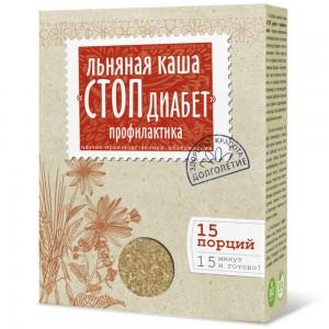 Каша стоп Диабет профилактика 400г Компас Здоровья