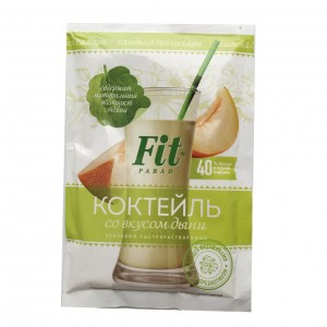 Коктейль протеиновый 40% дыня 30г ФитПарад