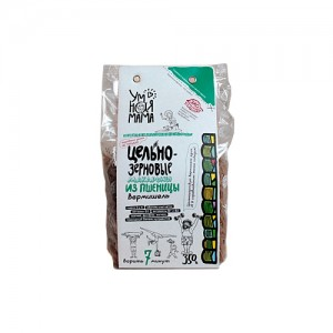 Макаронные изделия Вермишель пшеничная цельнозерновая 350г Умная мама