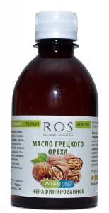 Масло грецкого ореха ст/б 250мл ROS