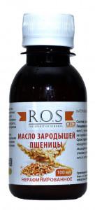Масло зародышей пшеницы 100мл ROS