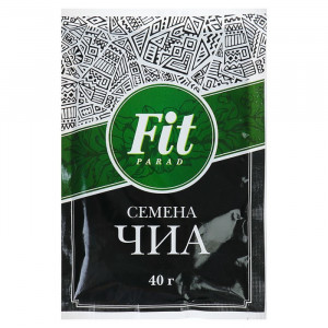 Семена Чиа пакет-саше 40г ФитПарад
