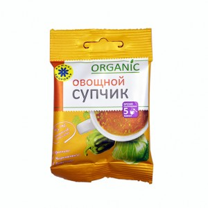 Суп-пюре Овощной пакетик 1шт Компас Здоровья
