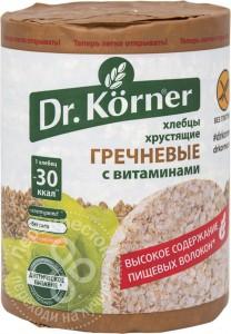 Хлебцы гречневые витаминизированные 100г DR.KORNER