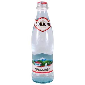 Минеральная вода газированная стекло 0.5л Боржоми